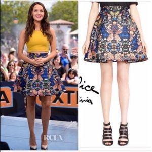 """Alice + Olivia """"Nyla"""" butterfly skirt 2"""